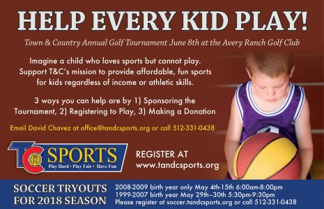 Town & Country Annual Golf Tournament June 8th At The Avery Ranch Golf Club